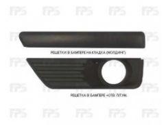 Накладка решетки в бампере Ford Focus II '04-08 правая (молдинг) (Tempest)