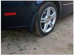 Брызговики задние для Audi A4 '05-08 седан/универсал, Оригинальные ОЕМ 8EC075101