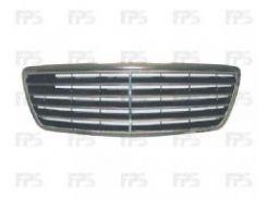 Решетка радиатора для Mercedes E-Class W210 '99-02 (Avantgarde) комплект (FPS)