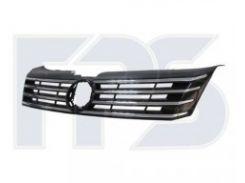 Решетка радиатора для Volkswagen Passat B7 '10-14 черная/хром (FPS)