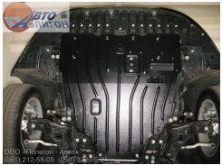 Защита картера двигателя для Toyota Avensis '08-, 1,8; 2,0; 2,2TD, АКПП (Полигон-Авто)