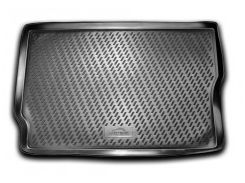 Коврик в багажник для Opel Meriva 2003 - 2009 полиуретановый (Novline) черный