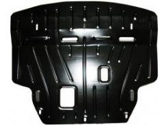 Защита картера двигателя для Ford Fiesta '13-17, 1,0; 1,4D (Полигон-Авто)