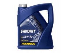 Mannol Favorit 15W-50 (5л)