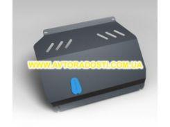 Защита картера двигателя для Chevrolet Aveo '11- 1,6 бензин МКПП/АКПП