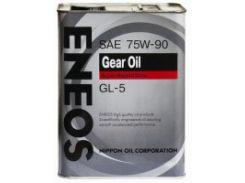 Масло трансмиссионное Eneos GEAR GL-5 75W90, 4 л