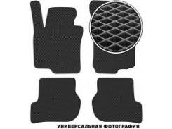 Коврики в салон для Acura MDX '14-, EVA-полимерные, черные (Kinetic)