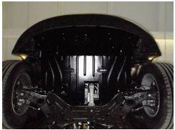 Защита картера двигателя для Citroen C3 Picasso 10- 1,4; 1,6D (Полигон-Авто)