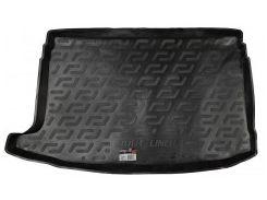 Коврик в багажник для Volkswagen Polo '09-17 хетчбэк, верхний, резино/пластиковый (Lada Locker)