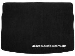 Коврик в багажник для Volkswagen Polo '09-17 хетчбэк, нижний, текстильный черный
