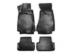 Коврики в салон для Audi A5 '07- Sportback, полиуретановые, черные (L.Locker)