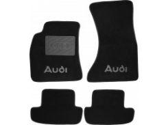 Коврики в салон для Audi A5 '07- Coupe текстильные, черные (Люкс)