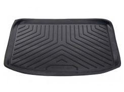 Коврик в багажник для Peugeot 206 '98-09 хэтчбек, резино/пластиковый (Nor-Рlast) черный