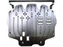Защита картера двигателя для Skoda Fabia '99-07, 1,2; 1,4; 1,9, авто не оборудовано балкой (Полигон-Авто)