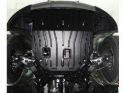 Защита картера двигателя для Hyundai Santa Fe '13-17 DM 2,2 CRDI2,4, AКПП (Полигон-Авто)