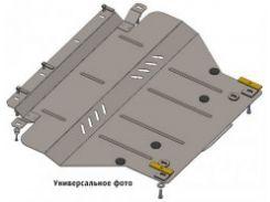 Защита двигателя и КПП, радиатора для Audi A3 '04-12, V-все, АКПП, МКПП (Кольчуга)