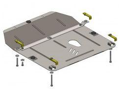Защита двигателя и КПП для Chevrolet Cruze '09-11, V-все дизель, АКПП, МКПП (Кольчуга)