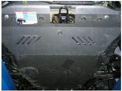 Защита двигателя и КПП, радиатора для Chevrolet Epica '07-12, V-все, МКПП (Кольчуга)
