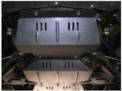 Защита двигателя и радиатора для Great Wall Hover '07-, V-2,4; 2,8D, МКПП (Кольчуга)