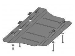 Защита двигателя для Hyundai Genesis '08-13, V-3,8, АКПП (Кольчуга)