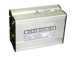 Инвертор / преобразователь напряжения импульсный АИДА 24/12В-50А (металл)