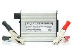 Инвертор / преобразователь напряжения импульсный АИДА 12/220-300Вт