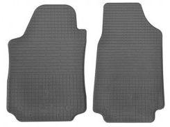 Коврики в салон передние для Audi 100 /A6 '91-97 резиновые (Stingray)