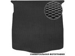 Коврик в багажник для Volkswagen Caddy Maxi '04-15, 7 мест, EVA-полимерный, черный (Kinetic)