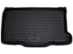 Коврик в багажник для Fiat 500 '08-, полиуретановый (Novline / Element) черный