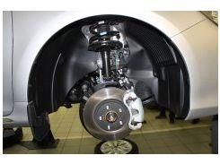 Брызговики передние для Toyota Camry V50 '11-14 (Novline / Element)