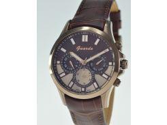 Мужские  часы GUARDO S08071A.4 коричневый