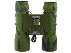 Бинокль 22x36  BASSELL (green)