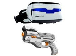 VR ENTERTAINMENT Real Feel Alien Blasters W Headset