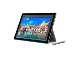 Microsoft U3P-00001 Surface Pro 4 (128GB / Intel Core i5 - 4 Gb RAM) Bundle Surface Pen+Cover (Silver)