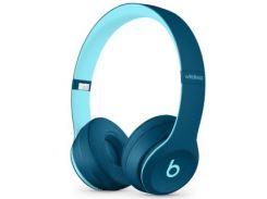 Beats by Dr. Dre Solo3 Wireless On-Ear Headphones Pop Blue (MQ392)