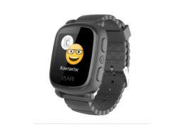 Elari KidPhone 2 Black с GPS-трекером (KP-2B)