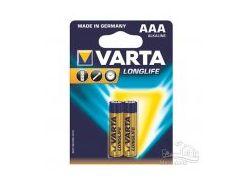 Батарейка VARTA LONGLIFE E AAA BLI 2
