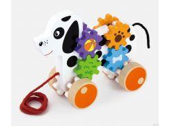 Игрушка-каталка Viga Toys Щенок (50977)