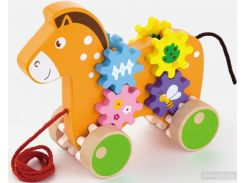 Игрушка-каталка Viga Toys Лошадка (50976)