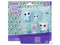 Набор фигурок Hasbro Littlest Pet Shop Семья петов (B9346)
