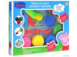 Набор для лепки Peppa Pig Играем с Пеппой (118938)