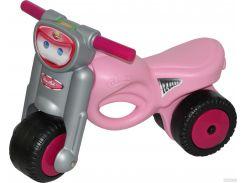 Каталка-мотоцикл Полесье Мини-мото розовая (48233)