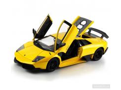 Машинка на радиоуправлении Meizhi Lamborghini LP670-4 SV желтая (MZ-2020y)