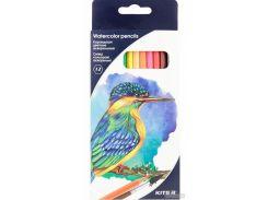 Карандаши цветные акварельные Kite 12 шт (K18-1049)