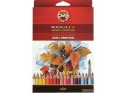 Карандаши цветные акварельные Koh-i-Noor Mondeluz 36 цветов (3719036001KZ)