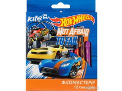Фломастеры Kite Hot Wheels 12 цветов (HW17-047)
