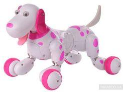 Робот-собака на радиоуправлении HappyCow Smart Dog розовый (HC-777-338p)