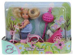 Кукла Штеффи Прогулка на велосипеде Steffi and Evi Love (573 0783-2)