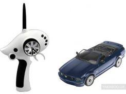 Автомодель на радиоуправлении Firelap IW02M-A Ford Mustang 2WD синяя (FLP-211G6a)