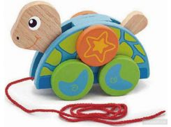 Игрушка-каталка Viga Toys Черепаха (50080)